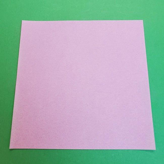 胡蝶しのぶ 髪飾りの作り方(折り紙) (1)