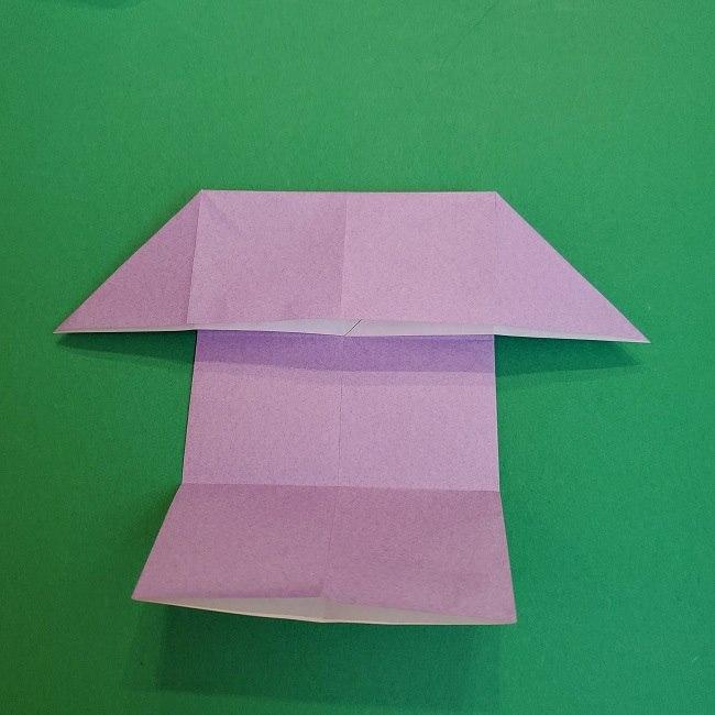 胡蝶しのぶ 髪飾りの作り方(折り紙) (10)