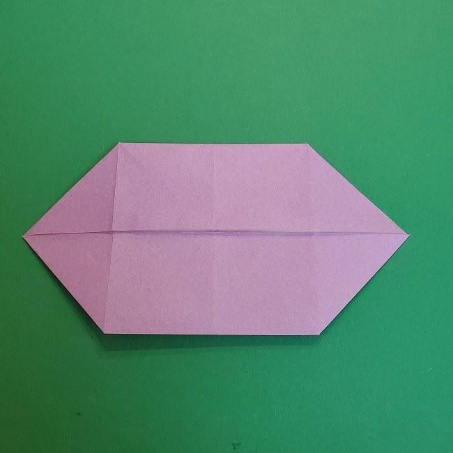 胡蝶しのぶ 髪飾りの作り方(折り紙) (11)