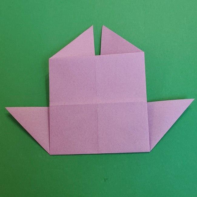 胡蝶しのぶ 髪飾りの作り方(折り紙) (14)