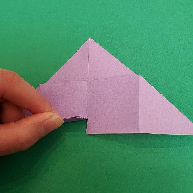 胡蝶しのぶ 髪飾りの作り方(折り紙) (16)