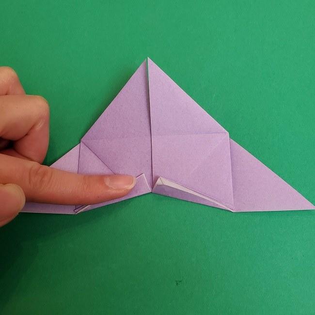 胡蝶しのぶ 髪飾りの作り方(折り紙) (18)