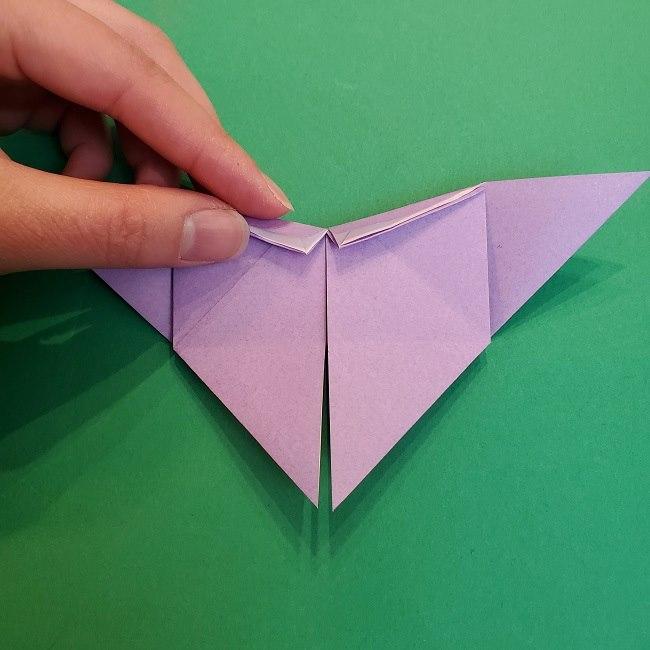 胡蝶しのぶ 髪飾りの作り方(折り紙) (19)