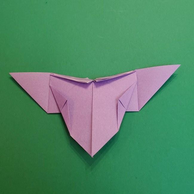 胡蝶しのぶ 髪飾りの作り方(折り紙) (20)