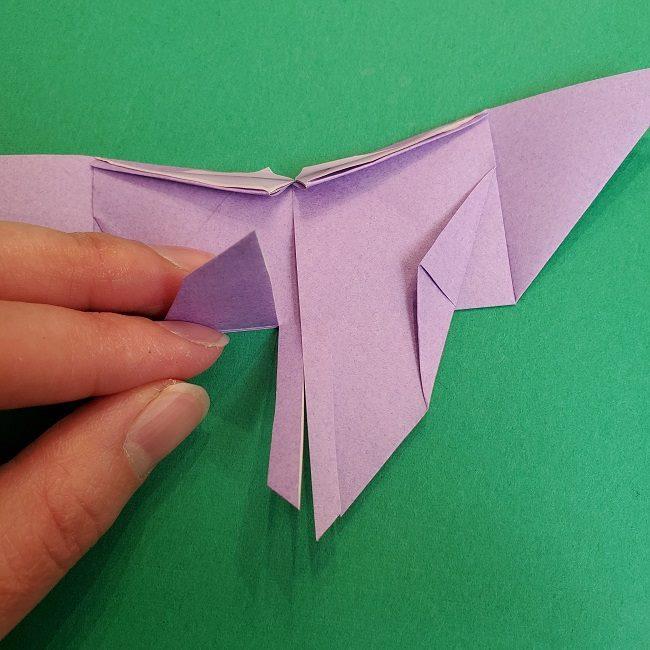 胡蝶しのぶ 髪飾りの作り方(折り紙) (21)
