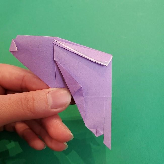 胡蝶しのぶ 髪飾りの作り方(折り紙) (24)