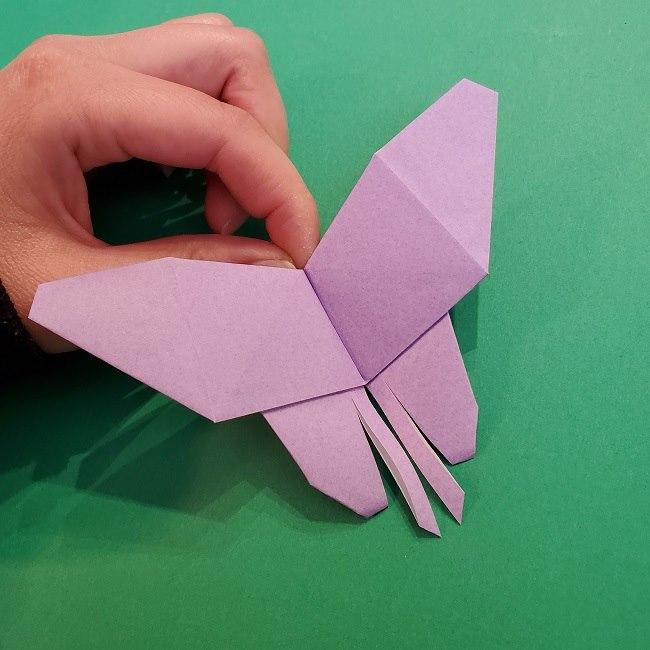 胡蝶しのぶ 髪飾りの作り方(折り紙) (26)