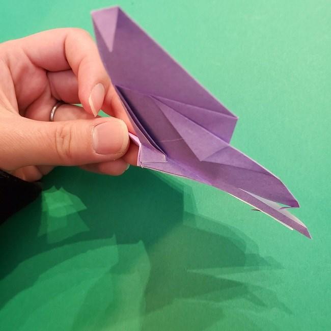胡蝶しのぶ 髪飾りの作り方(折り紙) (27)