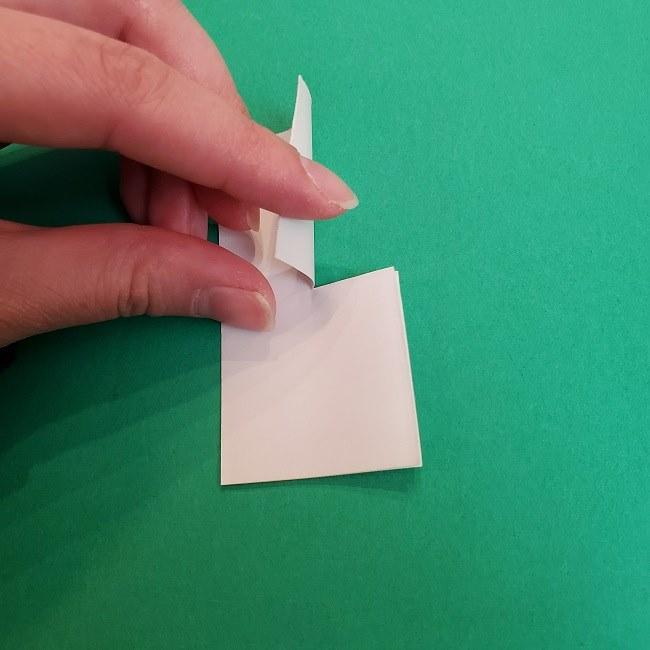 胡蝶しのぶ 髪飾りの作り方(折り紙) (32)