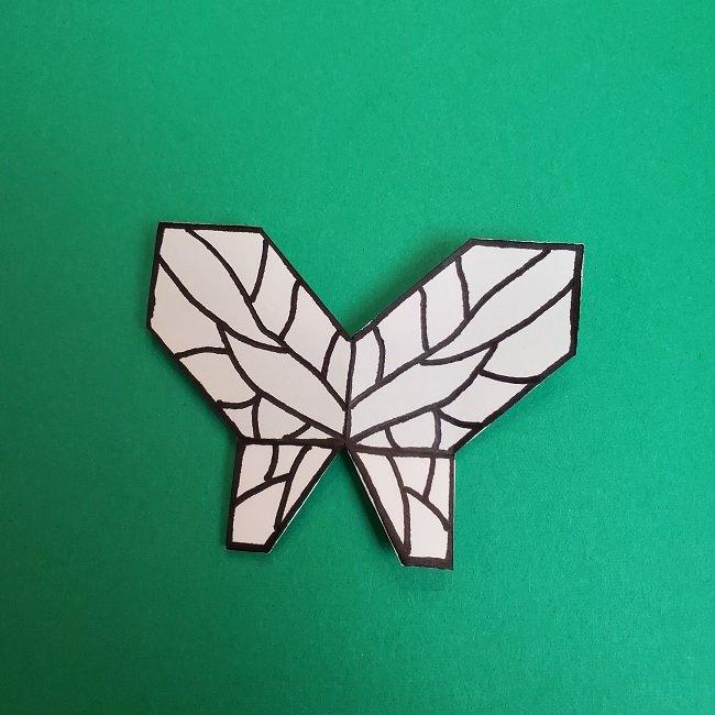 胡蝶しのぶ 髪飾りの作り方(折り紙) (42)
