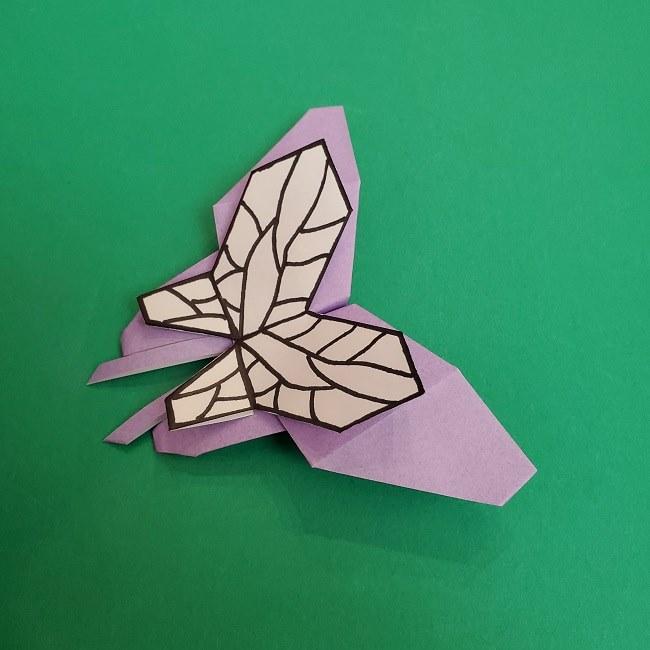胡蝶しのぶ 髪飾りの作り方(折り紙) (44)