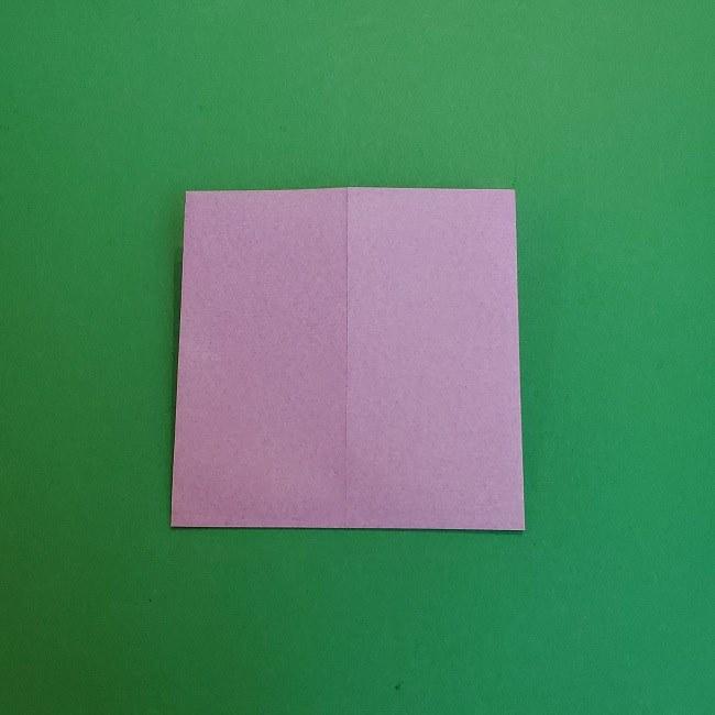 胡蝶しのぶ 髪飾りの作り方(折り紙) (5)