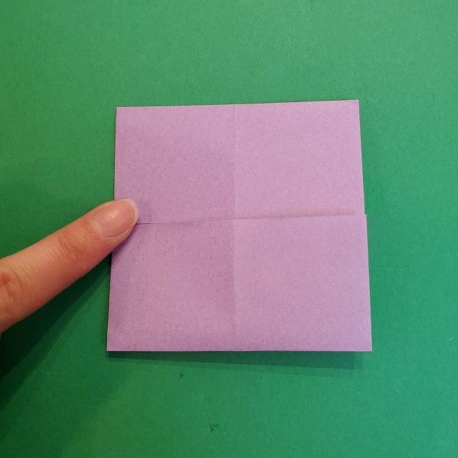 胡蝶しのぶ 髪飾りの作り方(折り紙) (7)