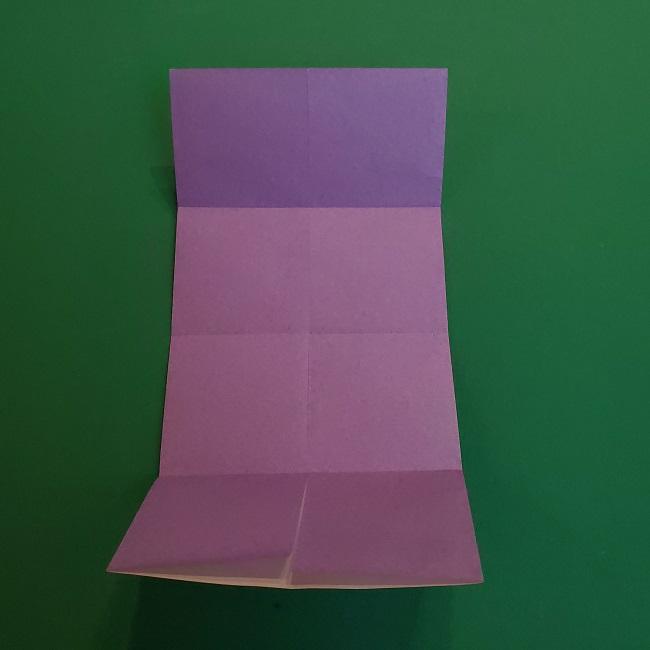 胡蝶しのぶ 髪飾りの作り方(折り紙) (8)