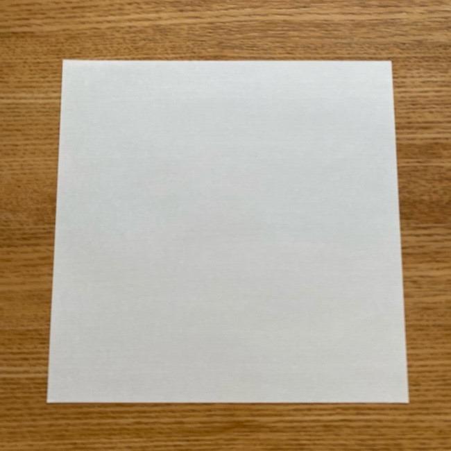 鬼滅の刃(きめつのやいば)折り紙 《茶々丸》の折り方作り方 (1)