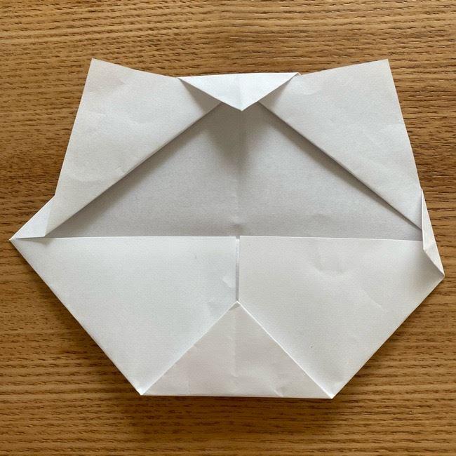 鬼滅の刃(きめつのやいば)折り紙 《茶々丸》の折り方作り方 (10)