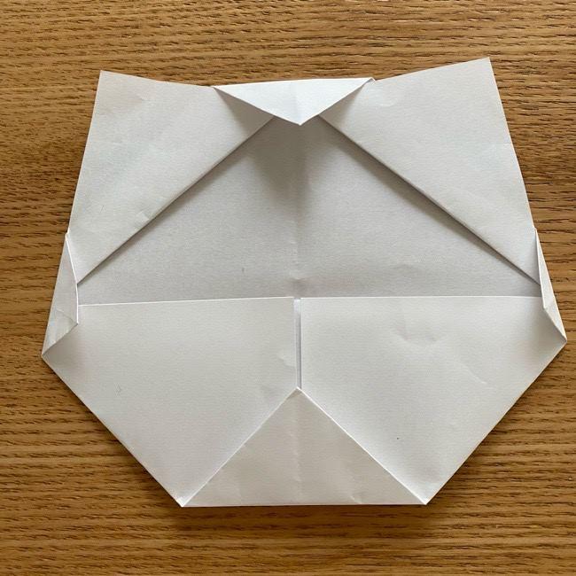 鬼滅の刃(きめつのやいば)折り紙 《茶々丸》の折り方作り方 (11)