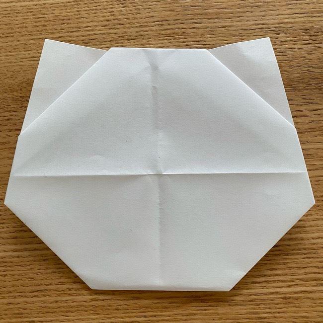 鬼滅の刃(きめつのやいば)折り紙 《茶々丸》の折り方作り方 (12)