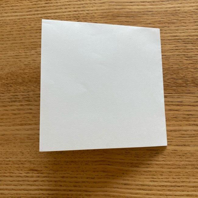 鬼滅の刃(きめつのやいば)折り紙 《茶々丸》の折り方作り方 (3)