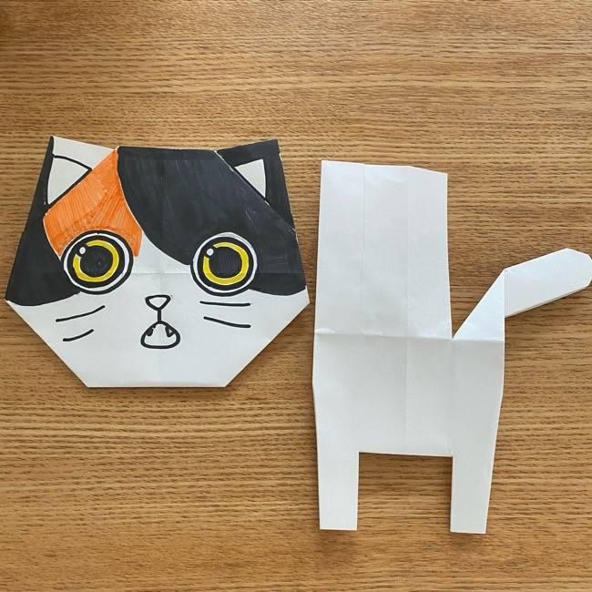 鬼滅の刃(きめつのやいば)折り紙 《茶々丸》の折り方作り方 (34)