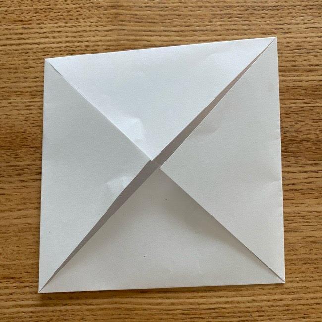 鬼滅の刃(きめつのやいば)折り紙 《茶々丸》の折り方作り方 (5)
