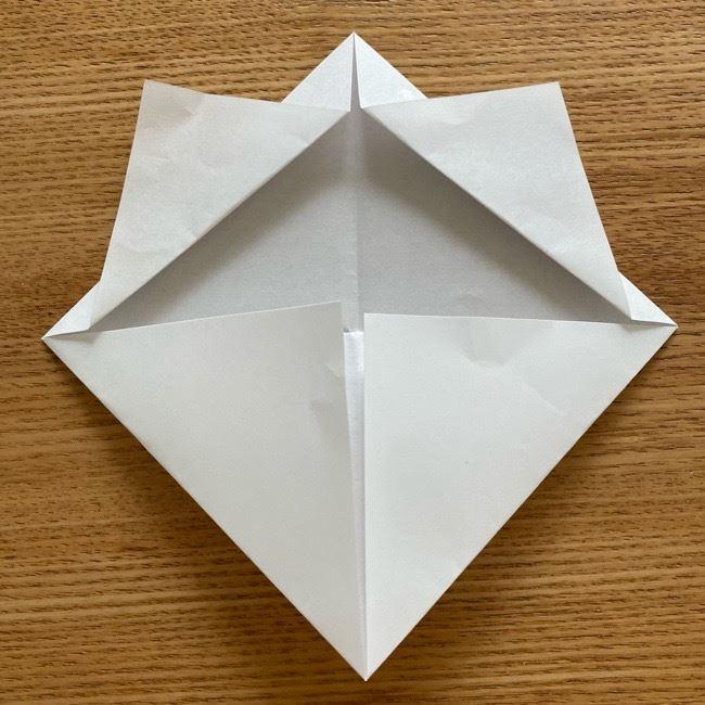 鬼滅の刃(きめつのやいば)折り紙 《茶々丸》の折り方作り方 (7)