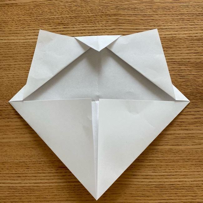 鬼滅の刃(きめつのやいば)折り紙 《茶々丸》の折り方作り方 (8)