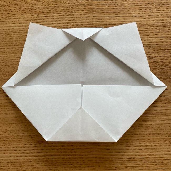 鬼滅の刃(きめつのやいば)折り紙 《茶々丸》の折り方作り方 (9)