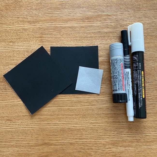 鬼滅の刃の折り紙『かすがいがらす』用意する物