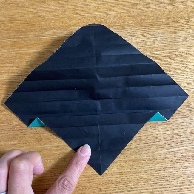 鬼滅の刃 折り紙ブレスレットの折り方・作り方 (14)