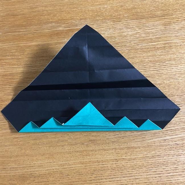 鬼滅の刃 折り紙ブレスレットの折り方・作り方 (17)