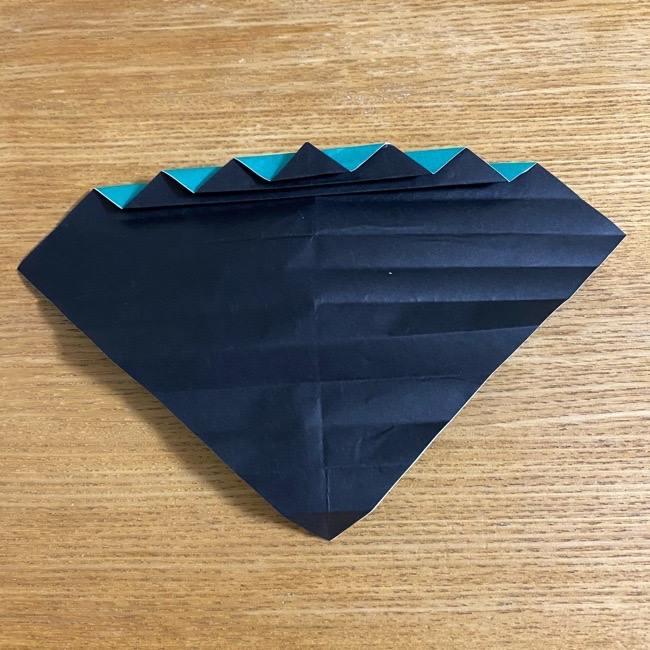 鬼滅の刃 折り紙ブレスレットの折り方・作り方 (19)