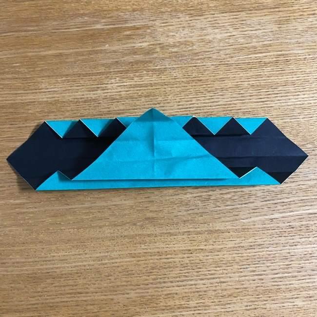 鬼滅の刃 折り紙ブレスレットの折り方・作り方 (21)