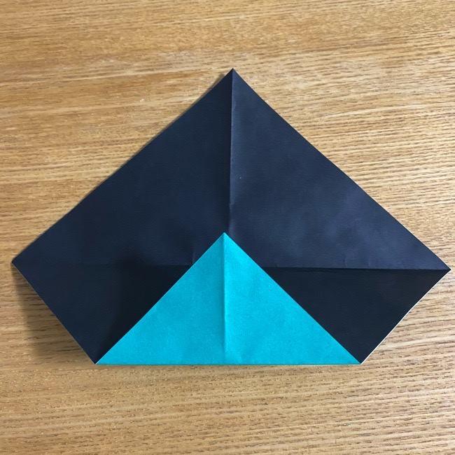 鬼滅の刃 折り紙ブレスレットの折り方・作り方 (6)