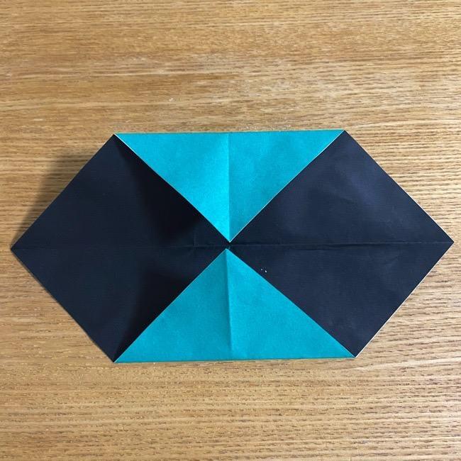 鬼滅の刃 折り紙ブレスレットの折り方・作り方 (7)