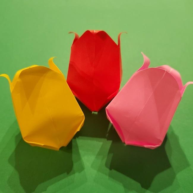 4月の折り紙 チューリップ(立体)の花の作り方は難しい!折り方を紹介♪