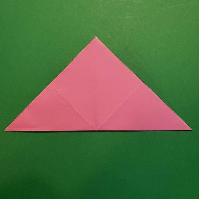 4月の折り紙 チューリップ(立体)の花*作り方折り方 (11)