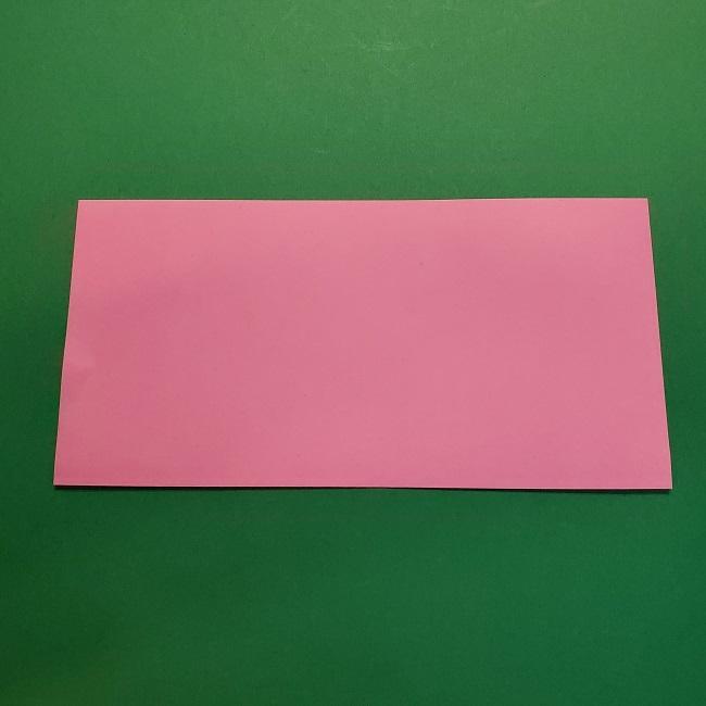 4月の折り紙 チューリップ(立体)の花*作り方折り方 (2)