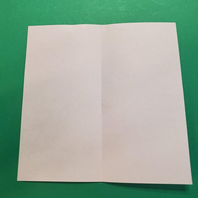 4月の折り紙 チューリップ(立体)の花*作り方折り方 (3)