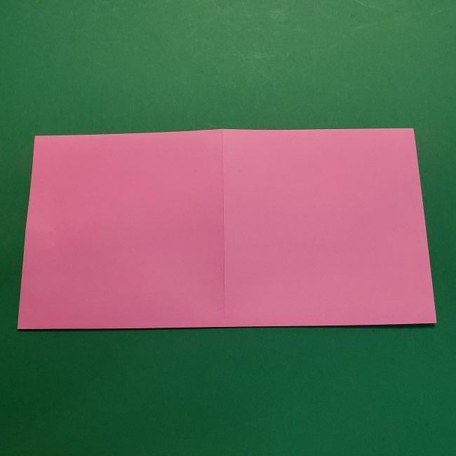 4月の折り紙 チューリップ(立体)の花*作り方折り方 (4)