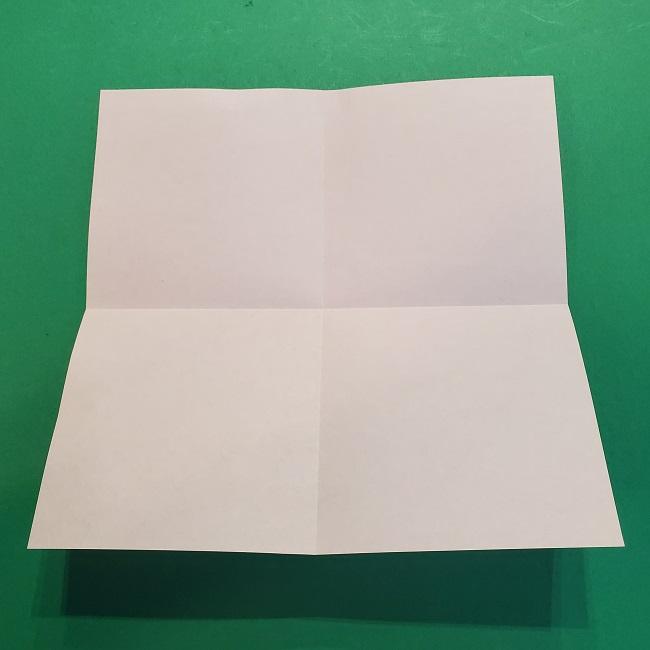 4月の折り紙 チューリップ(立体)の花*作り方折り方 (5)