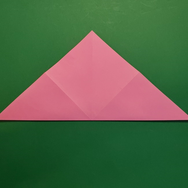4月の折り紙 チューリップ(立体)の花*作り方折り方 (7)