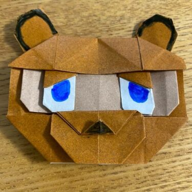 あつ森の折り紙たぬきちの折り方作り方★あつまれどうぶつの森たぬきのキャラクター