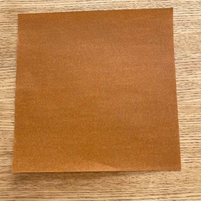 あつ森の折り紙たぬきち*折り方作り方 (1)