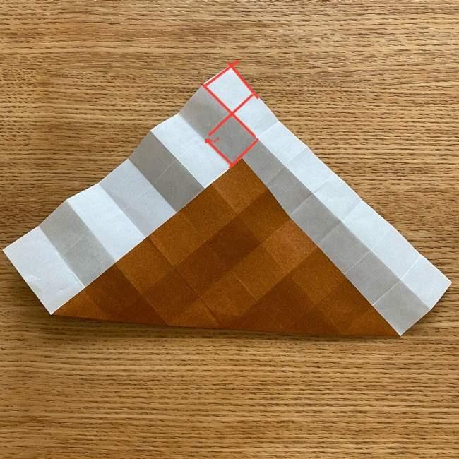 あつ森の折り紙たぬきち*折り方作り方 (10)