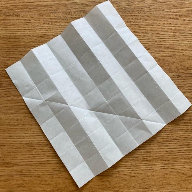 あつ森の折り紙たぬきち*折り方作り方 (11)