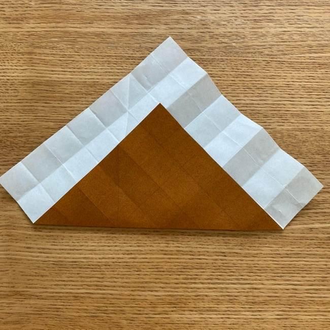 あつ森の折り紙たぬきち*折り方作り方 (12)