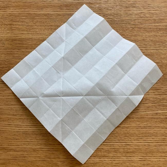 あつ森の折り紙たぬきち*折り方作り方 (13)