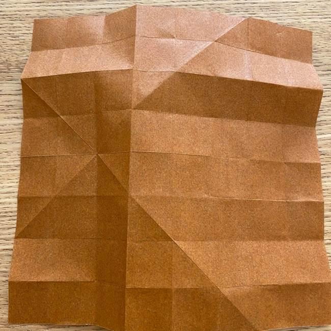 あつ森の折り紙たぬきち*折り方作り方 (14)