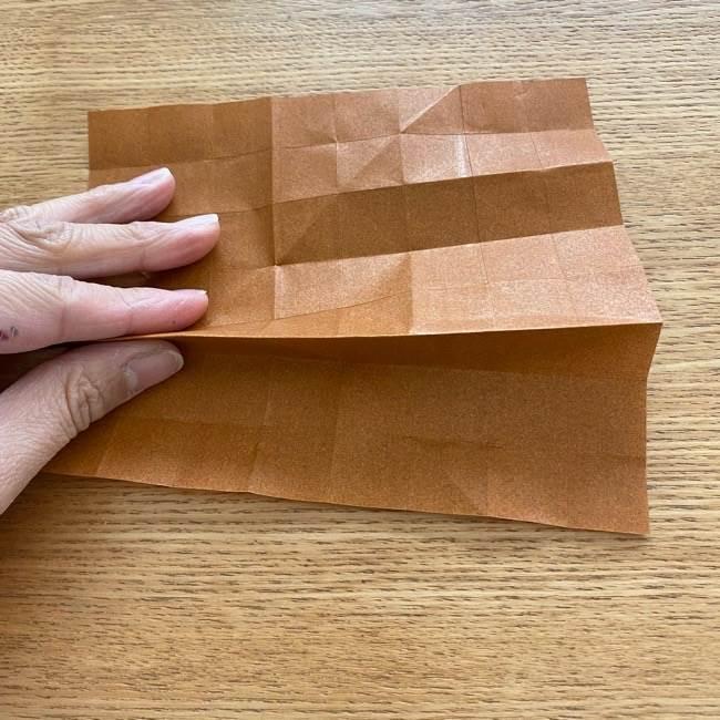 あつ森の折り紙たぬきち*折り方作り方 (15)